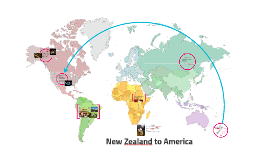 New Zealand to America
