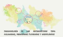 Farmacología de los antimicóticos tipo: Alilaminas, pirimidi