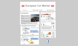 Copy of European car market