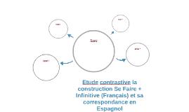 Etude contrastive la construction Se Faire + Infinitive (Fra