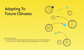World at Risk: Adapting To Future Climates (L27)