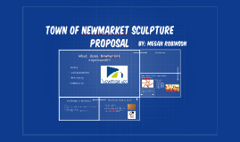 Town of newmarket sculpture proposal