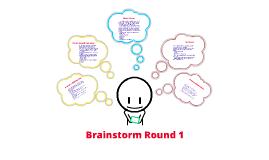 Database Project Brainstorm Round 1