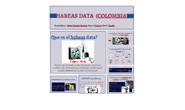 Copy of HABEAS DATA  (COLOMBIA)