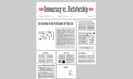 Democracy vs. Dictatorship