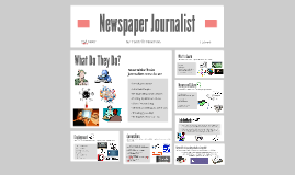 Newspaper Journalist