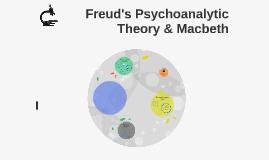 Copy of Freud's Psychoanalytic Theory & Macbeth