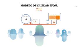 MODELO DE  EFQM .