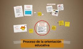 Proceso de la orientación educativa