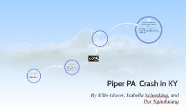 Piper PA  Crash in KY