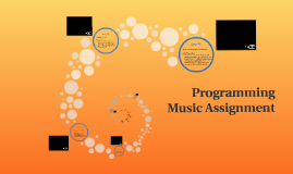 Programming Music Assignment