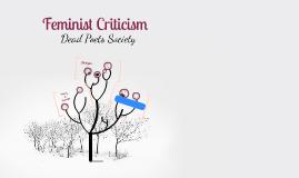 Feminist Criticsm - Dead Poets Society