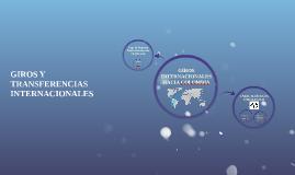 GIROS INTERNACIONALES HACIA COLOMBIA