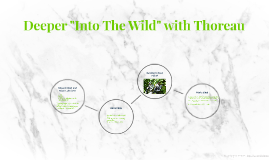 """Deeper """"Into The Wild"""" with Thoreau"""