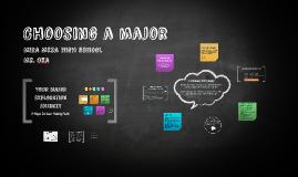 Choosing a major MMHS