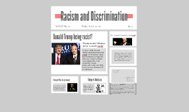 Racism as Discrimination