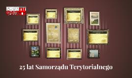 25 lat Samorządu Terytorialnego