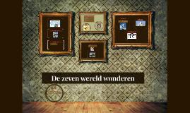 De zeven wereld wonderen