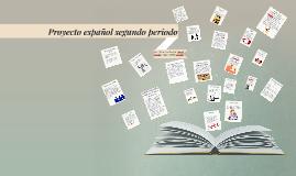 Proyecto español segundoperiodo