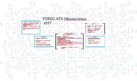 FOREG Mezzocorona 2017