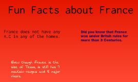 Fun Facts About France By Lily Dorrell On Prezi