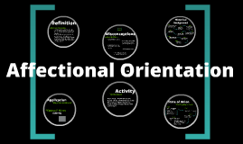 Affectional Orientation