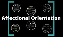 Affectional Orientation