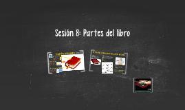 Sesión 8. Partes del libro 3ro y 4to grado