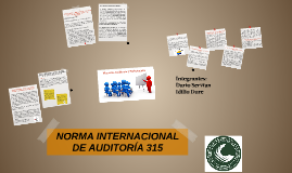 Copy of NORMA INTERNACIONAL DE AUDITORÍA 315 - 330