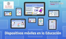 Realidad actual del uso de los Dispositivos móviles en área Educativa
