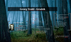 Georg Trakl - Grodek