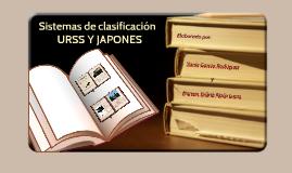 Sistemas de clasificación: Antigua URSS (BBK o CBL), Japones (NDC) y Chino (CCL)