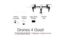 Drones 4 Good #SciFoo @Google HQ