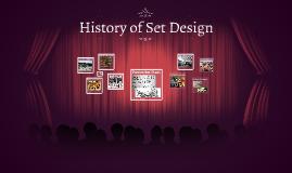 History of Set Design
