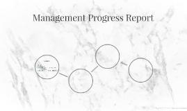 Management Progress Report