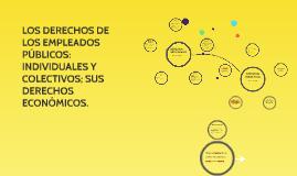 LOS DERECHOS DE LOS EMPLEADOS PÚBLICOS: INDIVIDUALES Y COLEC
