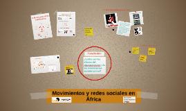 Movimientos y redes sociales en África - CIRA 2017