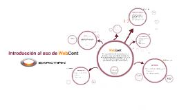 Copy of Introducción al uso de WebCont
