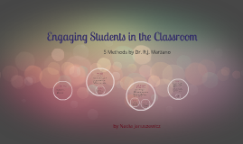 Copy of Engaging Students in the Classroom