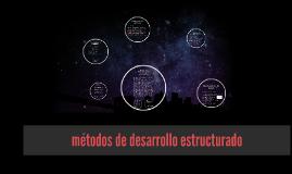 Copy of Método de desarrollo por análisis estructurado
