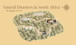 Natural Disasters in South Africa