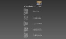 Roots - Peter - 1 Peter