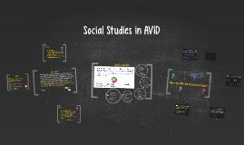 Copy of Social Studies in AVID