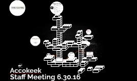 Staff Meeting 6.15.16