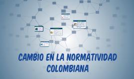 Copy of CAMBIO EN LAS NORMAS CONTABLES