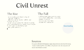 The Rise and Fall - Civil Unrest