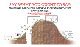 SAY WHAT YOU OUGHT TO SAY: Increasing your hiring potential through appropriate body langauge