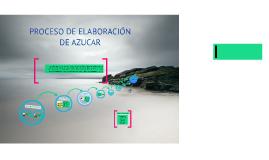 Copy of PROCESO DE ELABORACIÓN DE AZUCAR