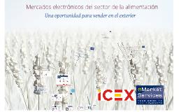 Mercados electrónicos del sector de la alimentación: una oportunidad para vender en el exterior