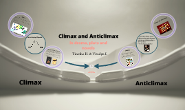 Copy of Climax and Anticlimax